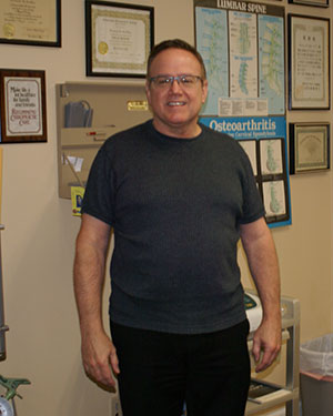 Dr. Richard Steffen with Steffen Chiropractic in Gladstone Missouri serving the Northland of Kansas City Missouri